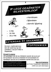 Silvesterloop in Poppenwier