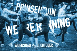 FUN RUN in de Prinsentuin