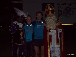 Sinterklaasloop podium