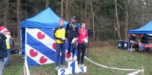 Podium Kerstcross