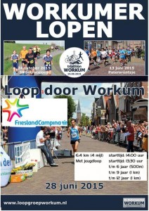 Loop door Workum