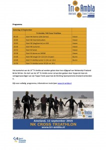 Persbericht NK Cross Triathlon Ameland 2