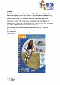 Persbericht NK Cross Triathlon Ameland 3