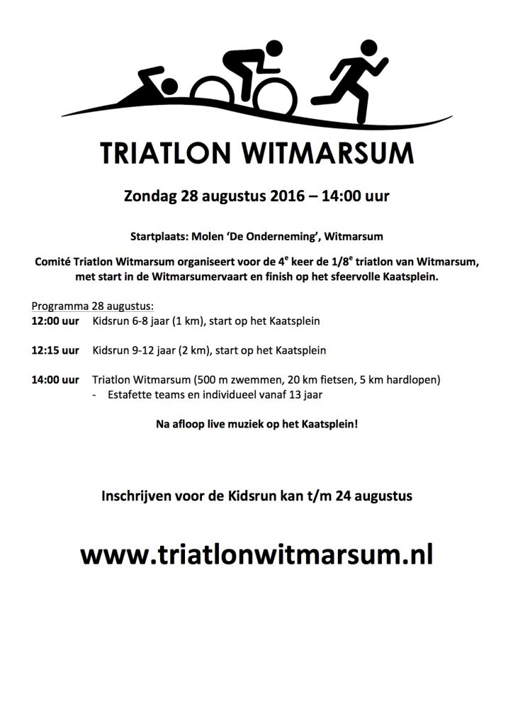 Flyer triatlon Heroisme